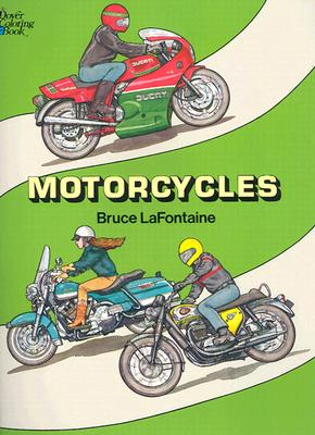 Image for Motorcycles Coloring Book (Dover History Coloring Book)