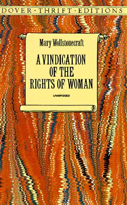 Image for Vindication Of The Rights Of Woman, A