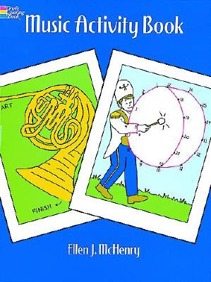 Image for Music Activity Book (Dover Coloring Books)