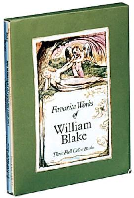 Image for Favorite Works of William Blake: Three Full-Color Books (Boxed Set of Three Full-Colour Books)