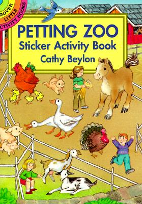 Image for Petting Zoo Sticker Activity Book (Dover Little Activity Books)
