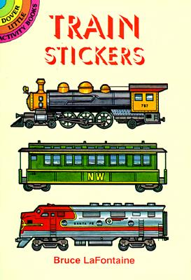 Image for Train Stickers (Dover Little Activity Books Stickers)