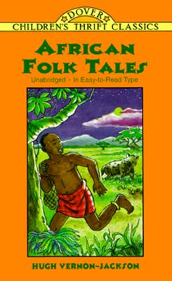Image for African Folk Tales (Dover Children's Thrift Classics)