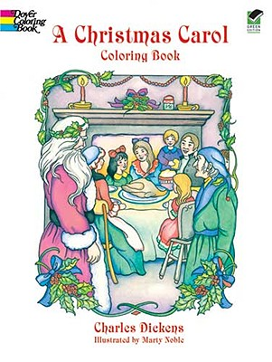 Image for A Christmas Carol Coloring Book (Dover Holiday Coloring Book)
