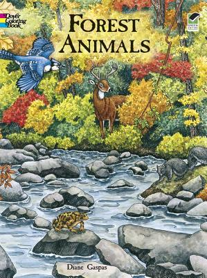 Image for Forest Animals Coloring Book (Dover Nature Coloring Book)