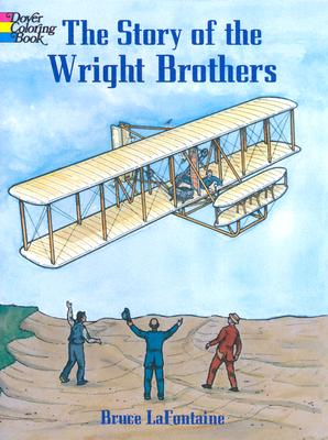 Image for The Story of the Wright Brothers (Dover History Coloring Book)
