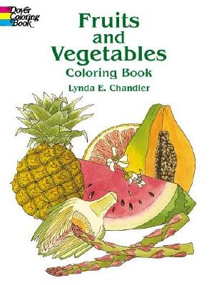 Image for Fruits and Vegetables Coloring Book