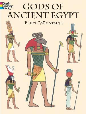 Image for Gods of Ancient Egypt (Dover Classic Stories Coloring Book)