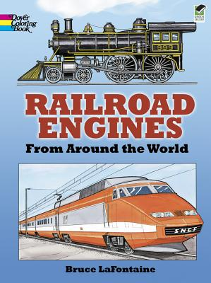 Image for Railroad Engines from Around the World Coloring Book (Dover History Coloring Book)