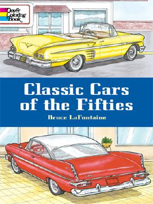 Image for Classic Cars of the Fifties (Dover History Coloring Book)