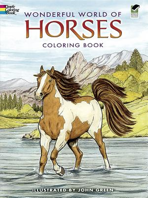 Image for Wonderful World of Horses Coloring Book (Dover Nature Coloring Book)