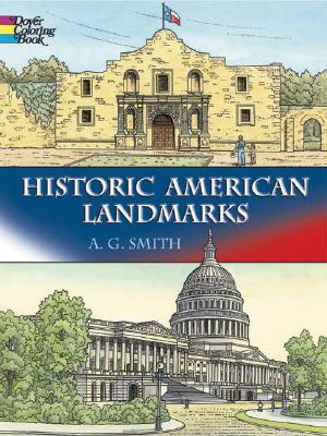 Image for Historic American Landmarks (Dover History Coloring Book)