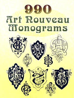 Image for 990 Art Nouveau Monograms (Dover Pictorial Archive)