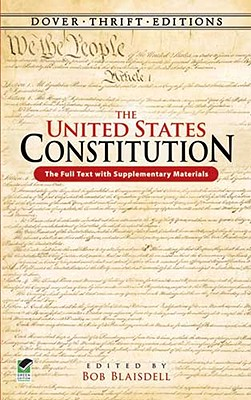 Image for UNITED STATES CONSTITUTION THE FULL TEXT WITH SUPPLEMENTARY MATERIALS