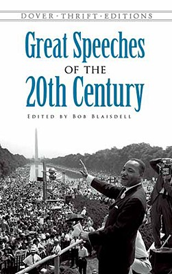 Image for Great Speeches of the 20th Century (Dover Thrift Editions)