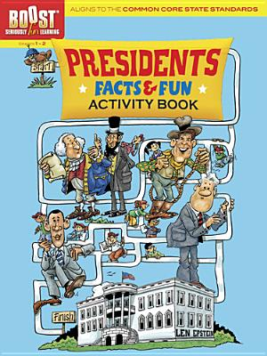 Image for BOOST Presidents Facts and Fun: Activity Book (BOOST Educational Series)