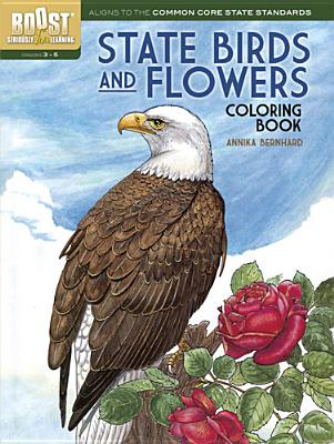 Image for State Birds & Flowers Coloring Book