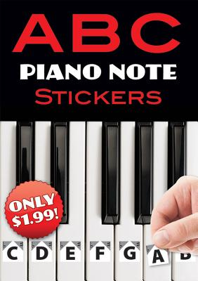 Image for A B C Piano Note Stickers