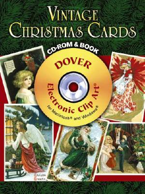 Image for Vintage Christmas Cards CD-ROM and Book (Dover Electronic Clip Art)