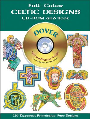Full-Color Celtic Designs CD-ROM and Book (Dover Electronic Clip Art), Marty Noble
