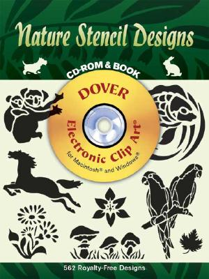 Image for Nature Stencil Designs (Dover Electronic Clip Art) (CD-ROM and Book)