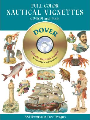 Image for Full-Color Nautical Vignettes CD-ROM and Book