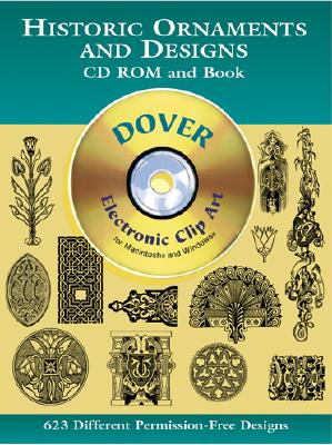 Historic Ornaments and Designs, Dover, Cedric
