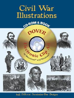 Image for Civil War Illustrations CD-ROM and Book (Dover Electronic Clip Art)