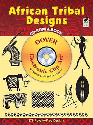 Image for African Tribal Designs CD-ROM and Book (Dover Electronic Clip Art)