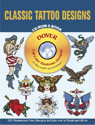 Image for Classic Tattoo Designs CD-ROM and Book (Dover Electronic Clip Art)