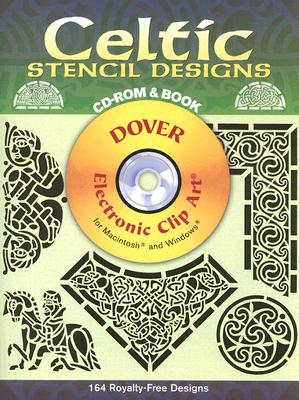 Image for Celtic Stencil Designs CD-ROM and Book (Dover Electronic Clip Art)