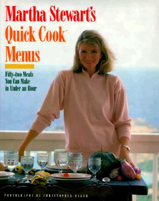 Image for MARTHA STEWART'S QUICK COOK MENUS : FIFT