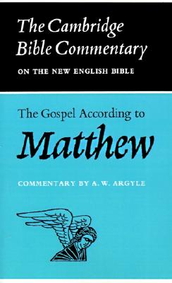 Image for The Gospel According to Matthew (Cambridge Bible Commentary)
