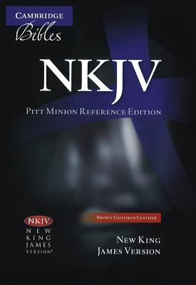 Image for NKJV Pitt Minion Reference Brown Goatskin NK446XR