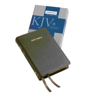 Image for KJV Cameo Reference Bible, Brown Calfskin Leather, Red-letter Text, KJ455:XR Brown Calfskin Leather