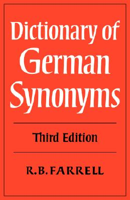 Image for Dictionary of German Synonyms