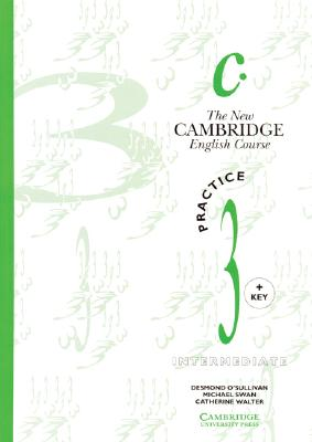 Image for New Cambridge English Course 3 Practice book with key