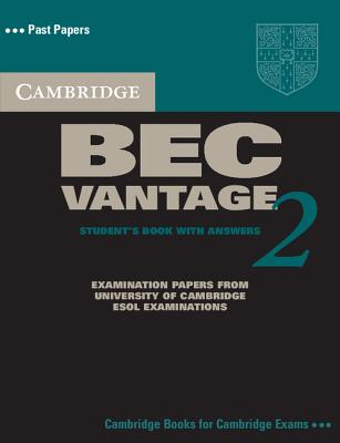 Image for Cambridge BEC Vintage 2 Self Study Pack  Examination Papers from University of Cambridge ESOL Examinations