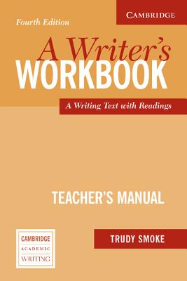 Image for Writer's Workbook Teacher's Manual  An Interactive Writing Text