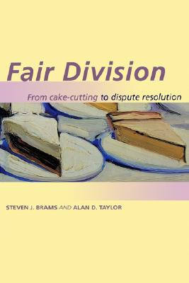 Image for FAIR DIVISION FROM CAKE-CUTTING TO DISPUTE RESOLUTION