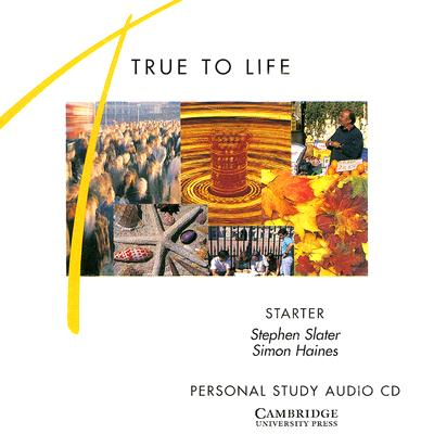 Image for True to Life Starter Personal study audio CD