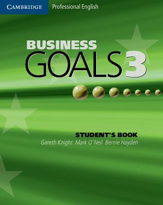 Image for Business Goals 3 Student's Book