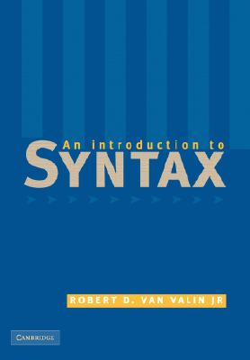 Introduction to Syntax, Van Valin, Robert D.