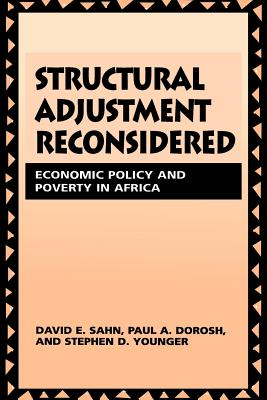 Image for Structural Adjustment Reconsidered: Economic Policy and Poverty in Africa
