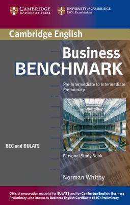 Image for Business Benchmark Pre-Intermediate to Intermediate Personal Study Book BEC and BULATS Edition