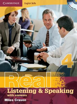 Cambridge English Skills Real Listening and Speaking Level 4 with Answers and Audio CDs, Craven, Miles