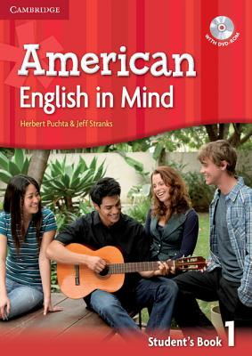 Image for American English in Mind Level 1 Student's Book with DVD-ROM