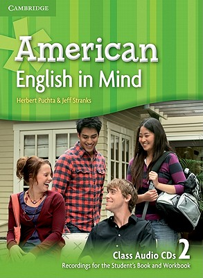 Image for American English in Mind Level 2 Class Audio CDs (3)