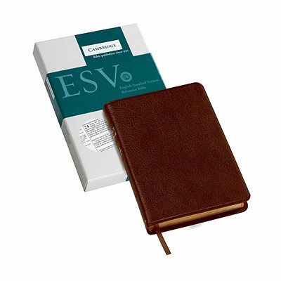 Image for ESV Pitt Minion Reference Brown Goatskin ES446:X