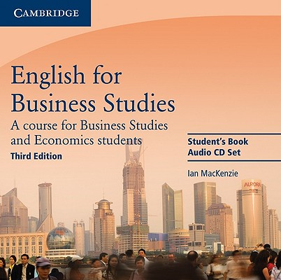 English for Business Studies Audio CDs (2)  A Course for Business Studies and Economics Students, Mackenzie, Ian